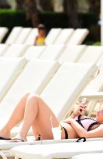 GEMMA MASSEY in Bikini at a Pool in Los Angeles 04/25/2017