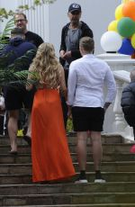 GEOIRGIA KOUSOULOU on the Set of Towie Finale in Coventry 04/26/2017