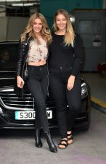 GEORGIA GIBBS and KATE WASLEY at ITV Studios in London 04/20/2017