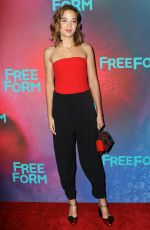 GEORGIE FLORES at 2017 Freeform Upfront in New York 04/19/2017
