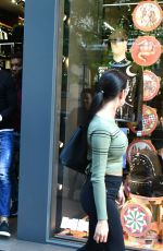 GEORGINA RODRIGUEZ and Cristiano Ronaldo Out Shopping in Madrid 04/20/2017