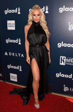GIGI GORGEOUS at 2017 Glaad Media Awards in Los Angeles 04/01/2017