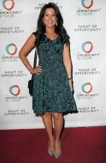 GIGI STONE at 2017 Night of Opportunity Gala in New York 04/24/2017