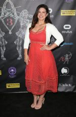 GINA CARANO at Artemis Women in Action Film Festival Gala in Los Angeles 04/21/2017