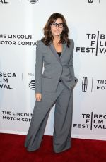 GINA GERSHON at Permission Premiere at 2017 Tribeca Film Festival in New York 04/21/2017