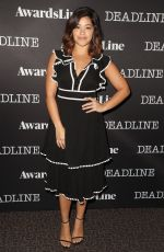 GINA RODRIGUEZ at Contenders Emmys Presented by Deadline in Los Angeles 04/09/2017