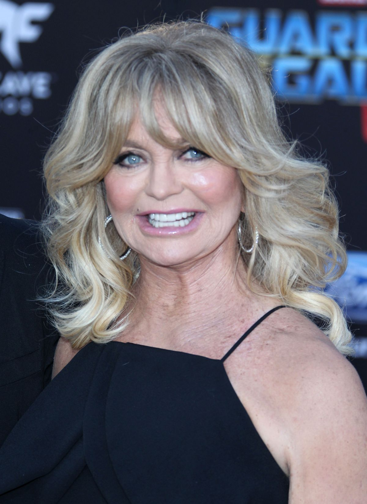 GOLDIE HAWN at Guardians of the Galaxy Vol. 2 Premiere in Hollywood 04/19/2017