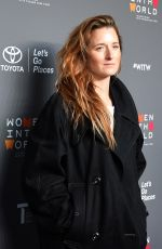 GRACE GUMMER at 8th Annual Women in the World Summit in New York 04/05/2017