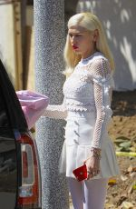 GWEN STEFANI Arrives at Easter Services at a Church in Los Angeles 04/16/2017