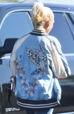 GWEN STEFANI Out and About in Los Angeles 04/09/2017