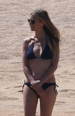 GWYNETH PALTROW in Bikini on the Beach in Cabo San Lucas 04/02/2017