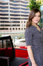 HAILEE STEINFELD at 104.3 MyFM Balcony in Los Angeles 04/27/2017