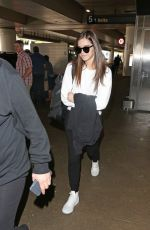 HAILEE STEINFELD at LAX Airport in Los Angeles 04/03/2017