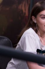 HAILEE STEINFELD on Air with Ryan Seacrest Radio Show in Los Angeles 04/28/2017