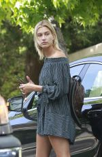 HAILEY BALDWIN Out and About in Los Angeles 04/25/2017