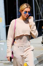 HAILEY BALDWIN Out and About in New York 04/11/2017