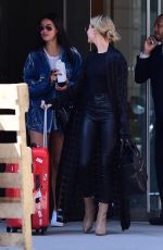 HAILEY BALDWIN Out in New 04/11/2017