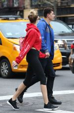 HAILEY CLAUSON Leaves Bowery Hotel in New York 04/26/2017