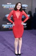 HARLEY QUINN SMITH at Guardians of the Galaxy Vol. 2 Premiere in Hollywood 04/19/2017