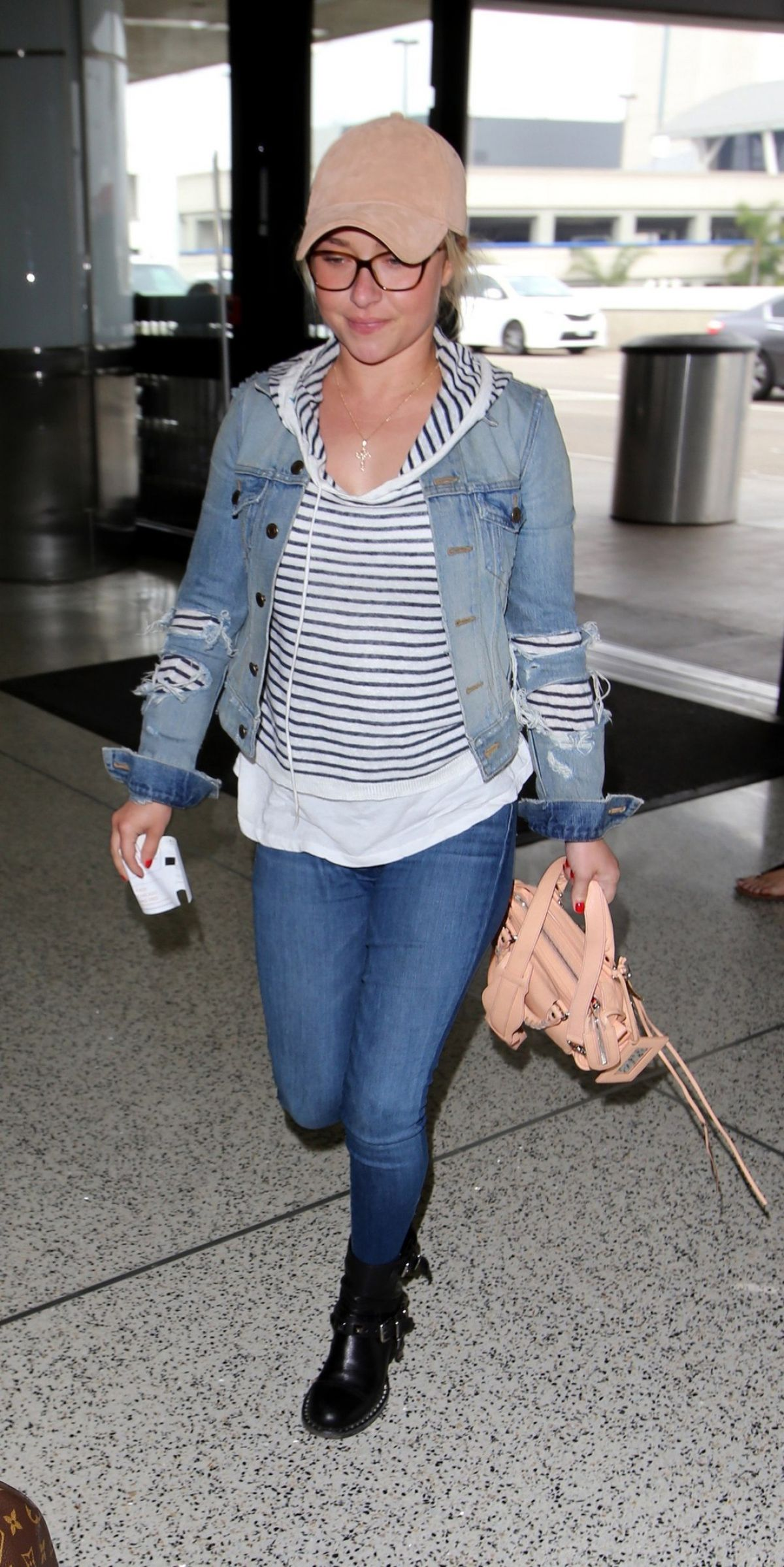 HAYDEN PANETTIERE at Los Angeles International Airport 04/06/2017