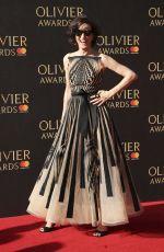 HAYDN GWYNNE at Olivier Awards in London 04/09/2017