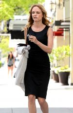 HEATHER GRAHAM Leaves Sushi Roku in Los Angeles 04/26/2017
