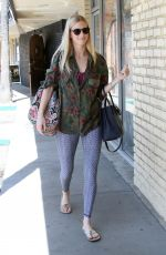 HEATHER MORRIS Arrives at Dancing with the Stars Rehearsal in Los Angeles 04/08/2017