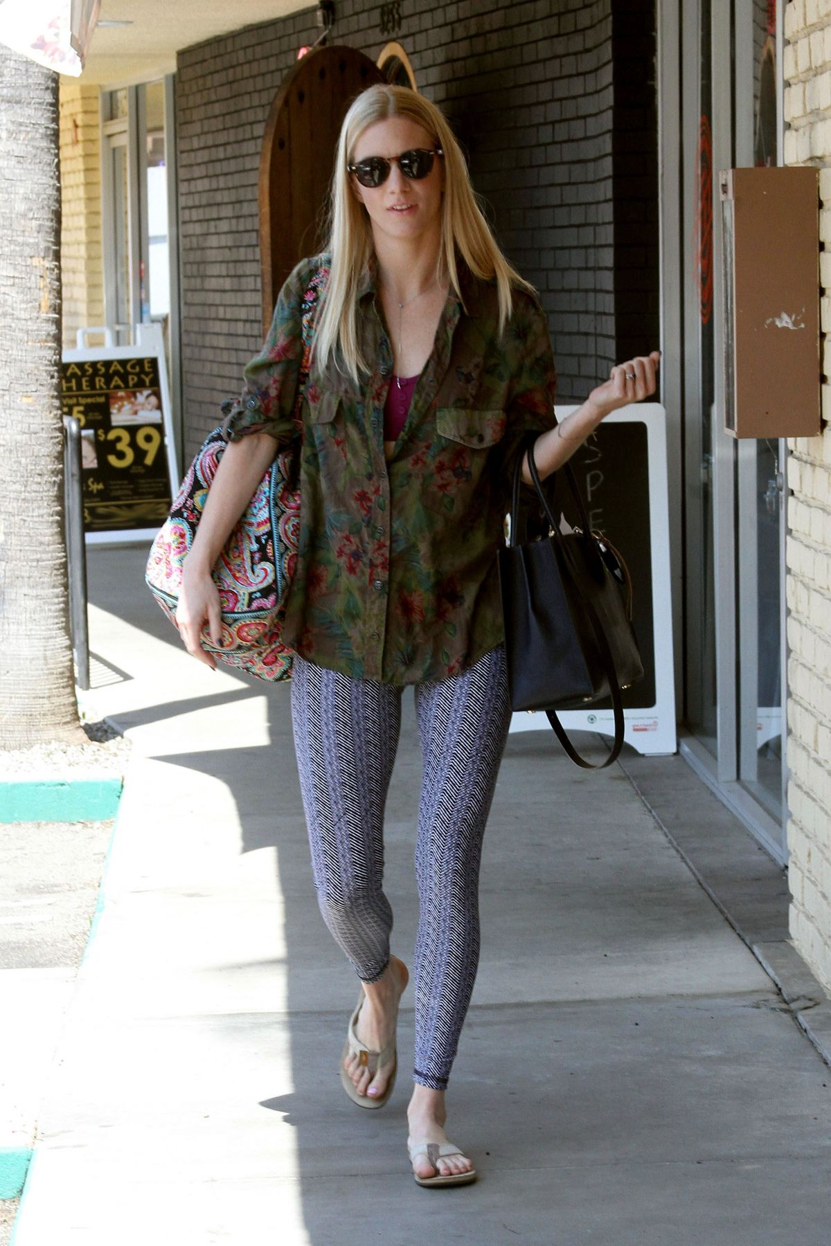 HEATHER MORRIS Arrives at Dancing with the Stars Rehearsal ...