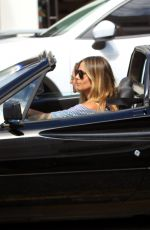 HEIDI KLUM Driving Out in Beverly Hills 04/18/2017
