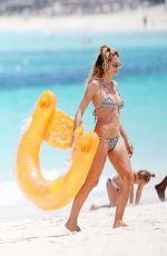 HEIDI KLUM in Bikini at a Beach in Turks and Caicos 04/05/2017