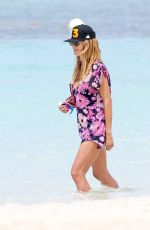 HEIDI KLUM in Bikini on Vacation in Saint Barthelemy 04/08/2017