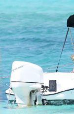 HEIDI KLUM in Bikini on Vacation in Turks and Caicos 04/05/2017