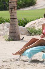 HELEN FLANAGAN in Bikini on the Beach in Dubai 03/31/2017