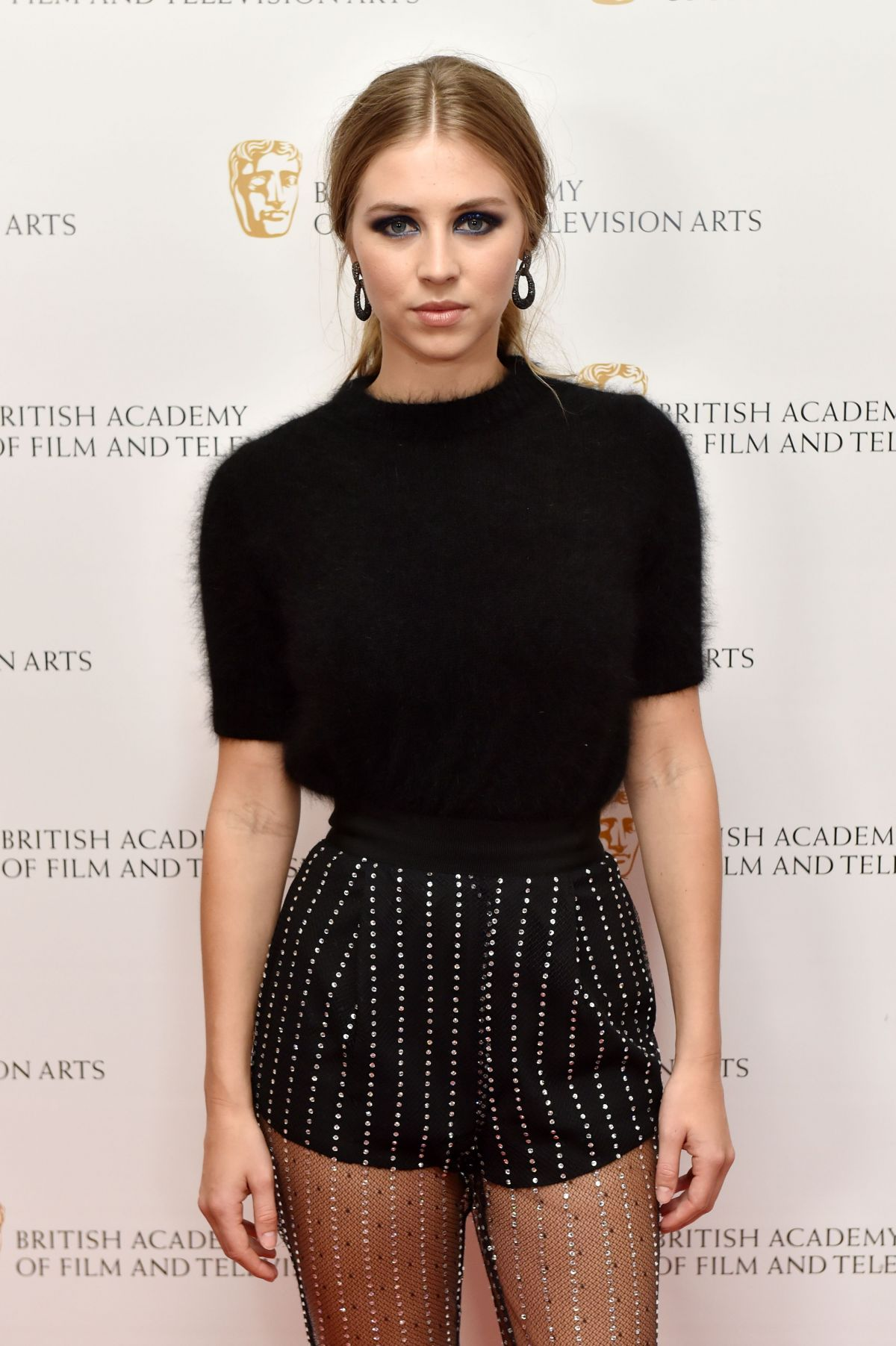 HERMIONE CORFIELD at British Academy Television Craft Awards in London 04/23/2017