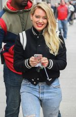 HILARY DUFF at Younger Set in New York 04/05/2017