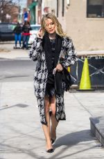 HILARY DUFF on the Set of Younger in New York 04/03/2017
