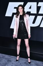 hilary rhoda at The Fate of the Furious Premiere in New York 04/08/2017