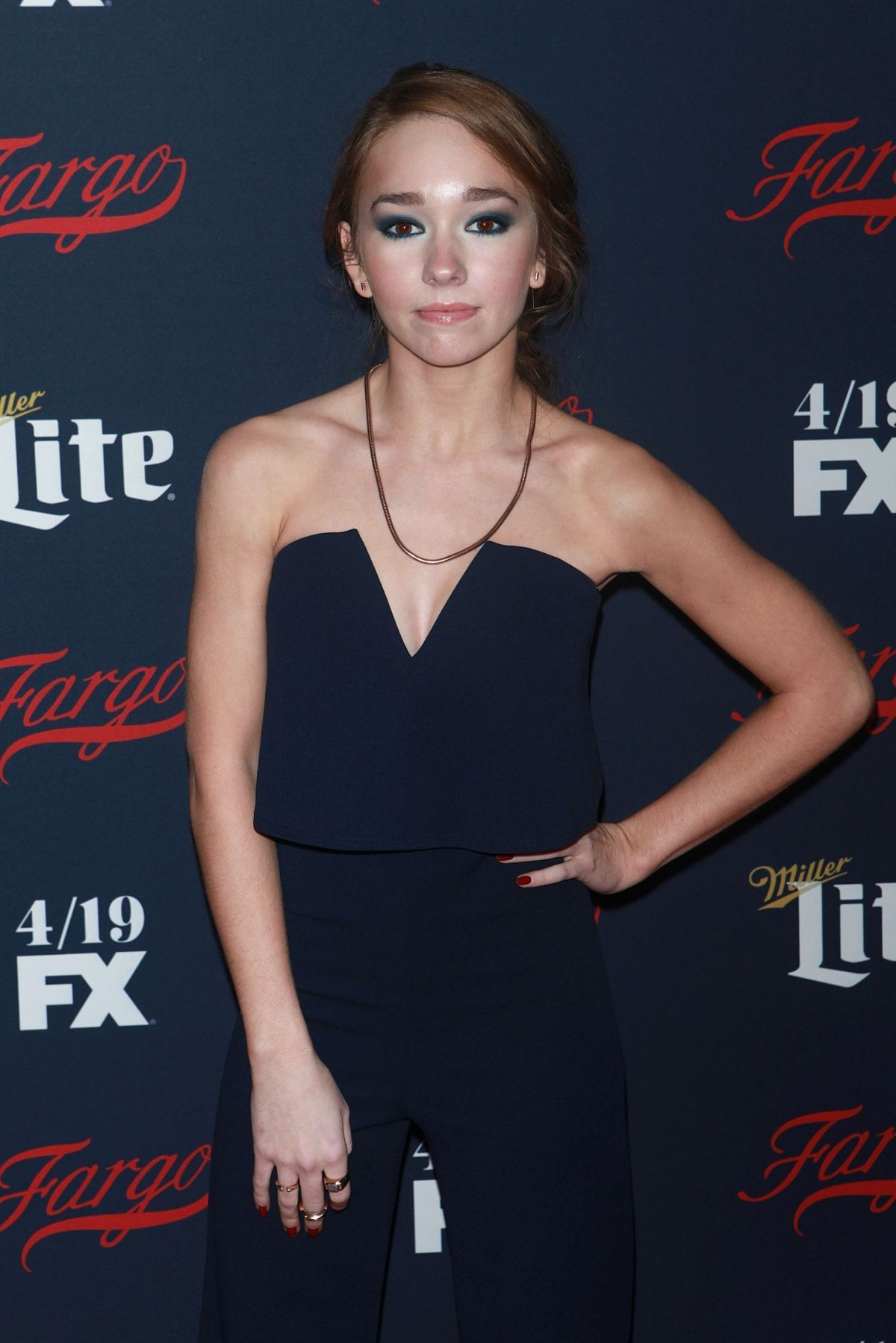 HOLLY TAYLOR at FX Network 2017 All-star Upfront in New York 04/06/2017