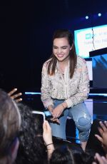 BAILEE MAIDSON at We Day New York in New York 04/06/2017