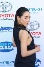 AIMEE GARCIA at Keep It Clean Comedy Benefit in Los Angeles 04/21/2017