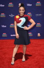 LAURIE HERNANDEZ at 2017 Radio Disney Music Awards in Los Angeles 04/29/2017