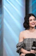 LUCY HALE at AOL Build Speaker Series in New York 04/20/2017