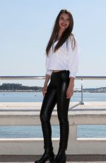 LEYLA LYDIA at Heart of The City Photocall in Cannes 04/03/2017