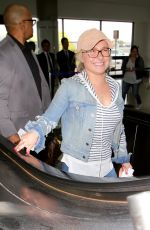 HAYDEN PANETTIERE at Los Angeles International Airport 04/06/2017