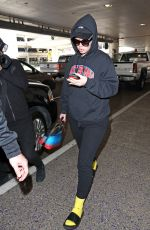 IGGY AZALEA at LAX Airport in Los Angeles 04/05/2017