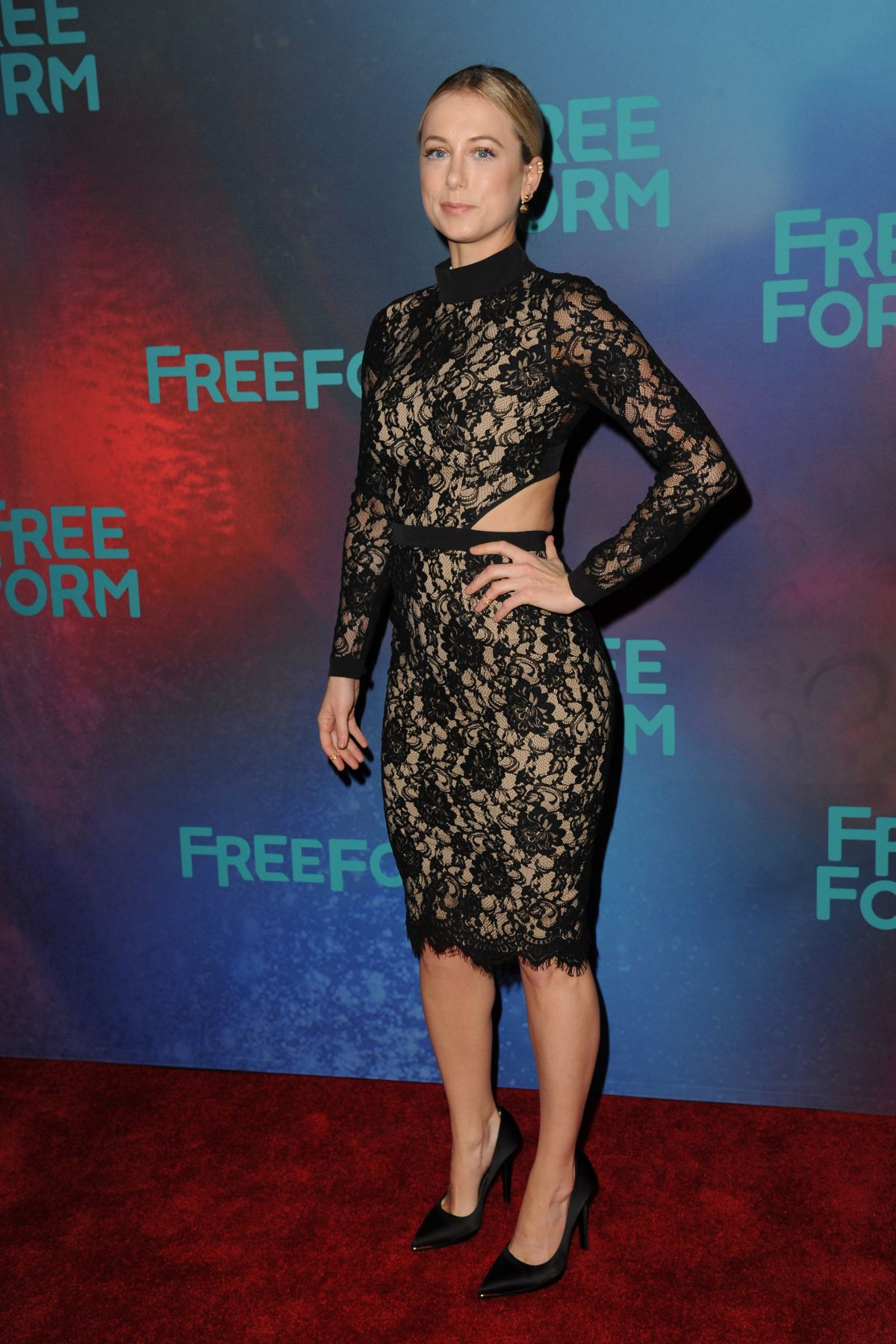 ILIZA SHLESINGER at 2017 Freeform Upfront in New York 04/19/2017