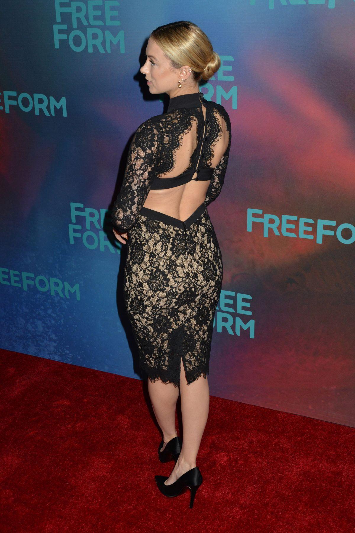 ILIZA SHLESINGER at 2017 Freeform Upfront in New York 04 ...