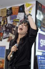 IMELDA MAY Performs and Signing Autographs at HMV in Manchester 04/26/2017