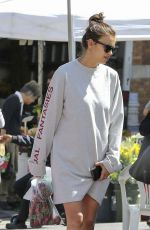 IRINA SHAYK Out and About in Los Angeles 03/31/2017