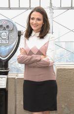 ITALIA RICCI Promotes Designated Survivor at Empire State Building in New York 04/05/2017